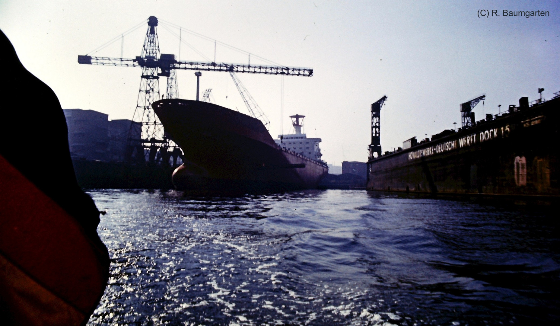 Dock 15 im Hamburger Hafen
