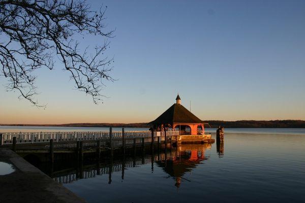 Dock at Mount Vernon - Potomac River