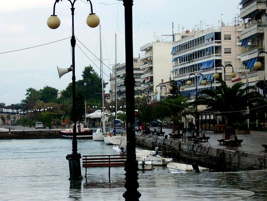 Docking in Chalkida