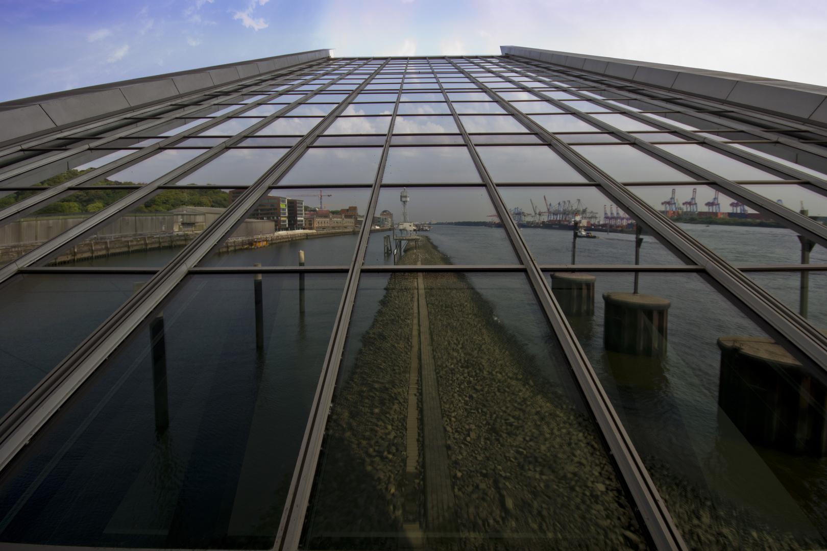 Dockland Spiegelung