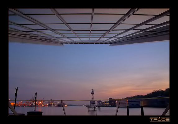Dockland Sunset