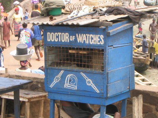 Doctor of Watches, Elmina, Ghana