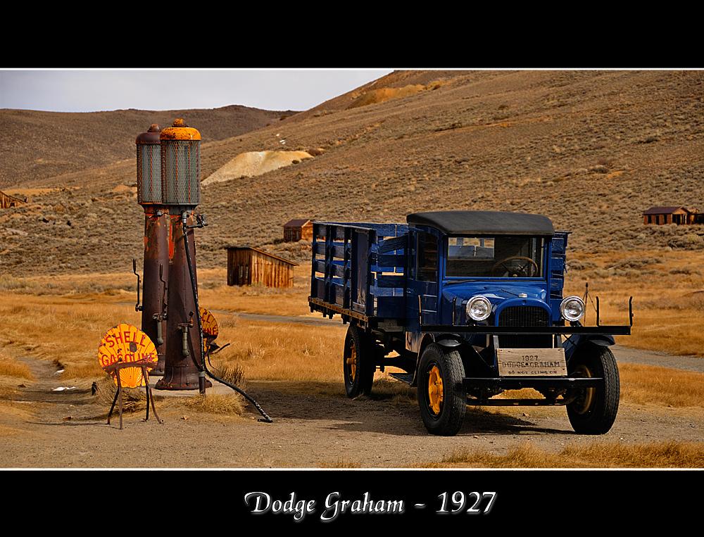 Dodge Graham 1927 - Bodie