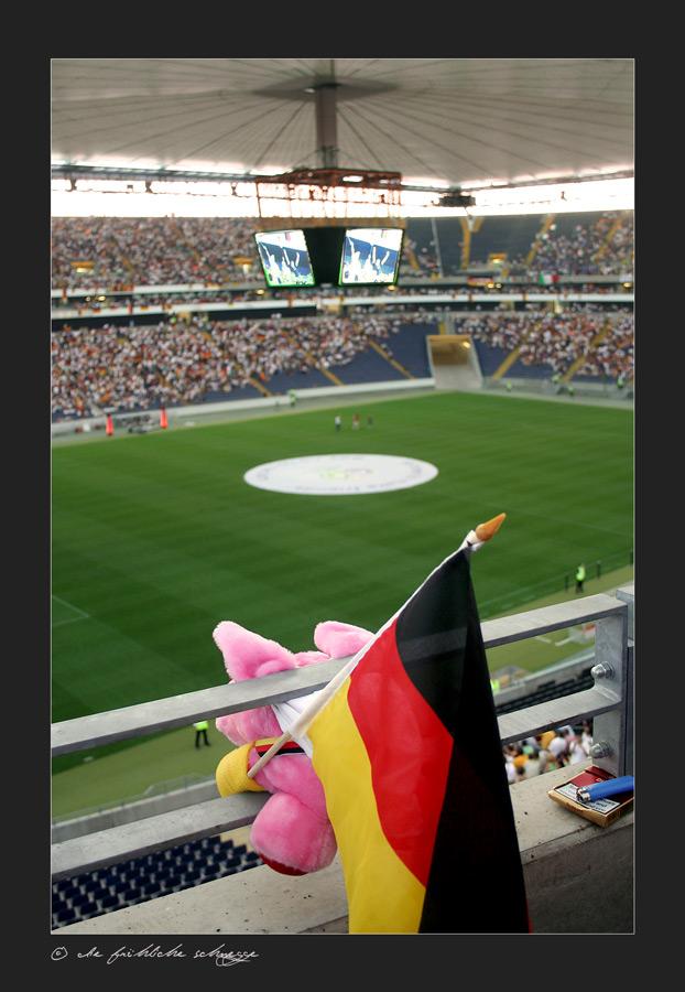 Doener im FIFA - WM - Stadion Frankfurt