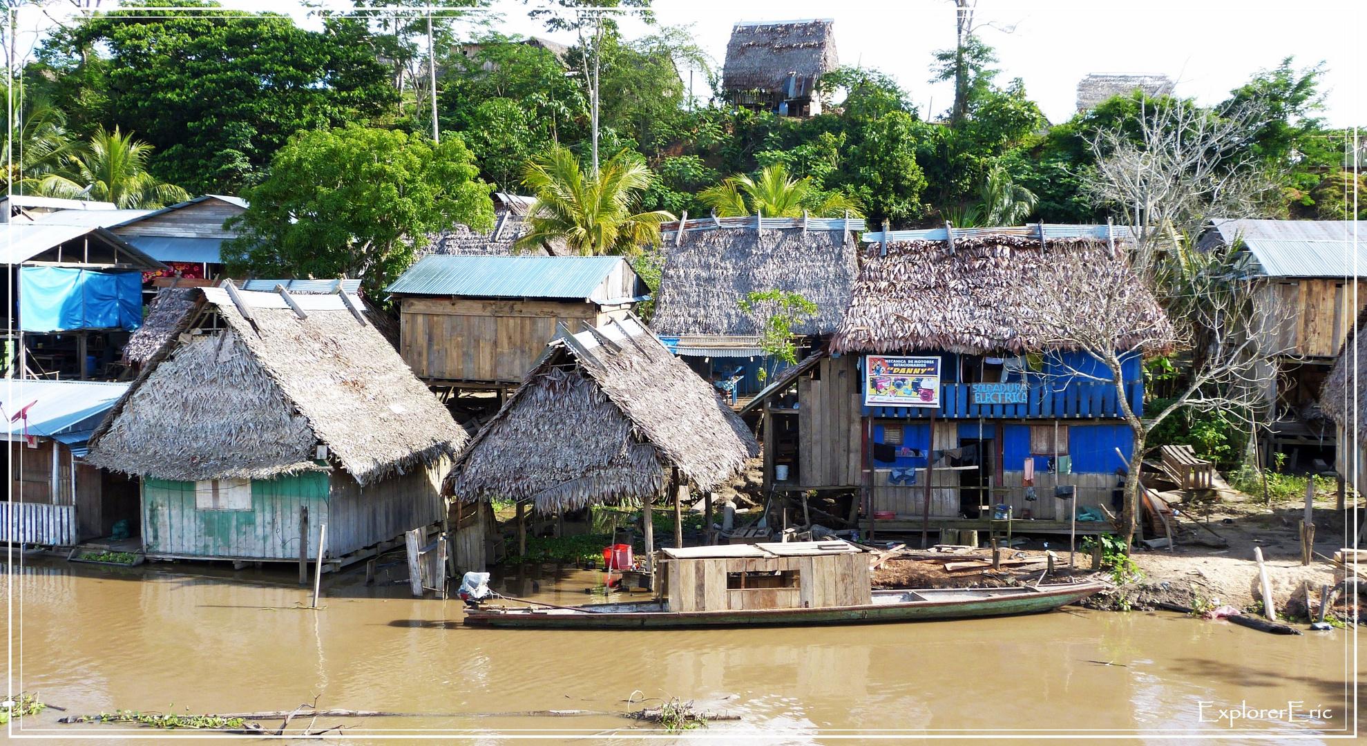 Dörfer am Amazonas................