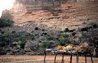 Dogon-Siedlung unterhalb von Sanga