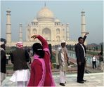 Doing the Taj Mahal