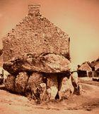 Dolmen in der Bretagne
