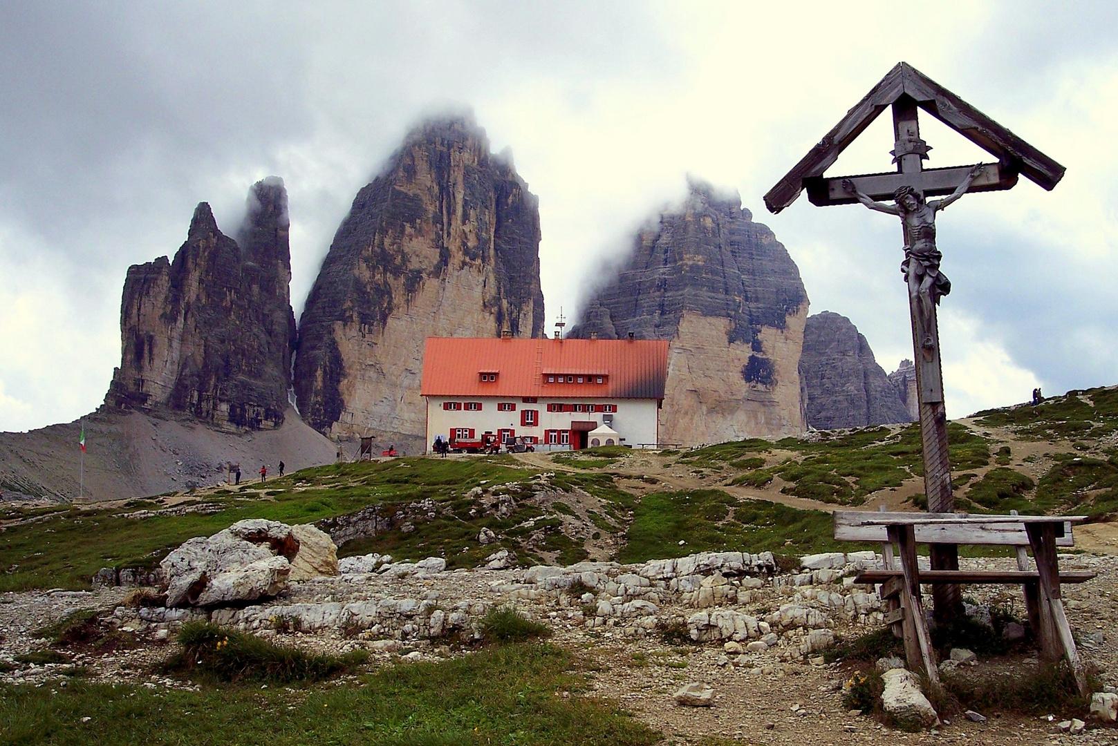 Dolomiten - Dreizinnenhütte
