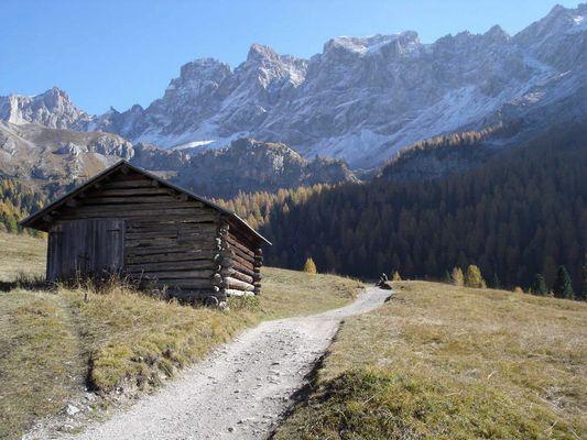Dolomiten im Oktober