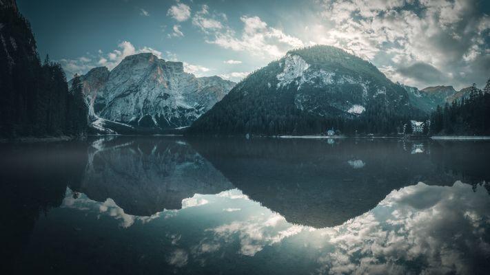 Dolomiten - Lago di Braies Panorama