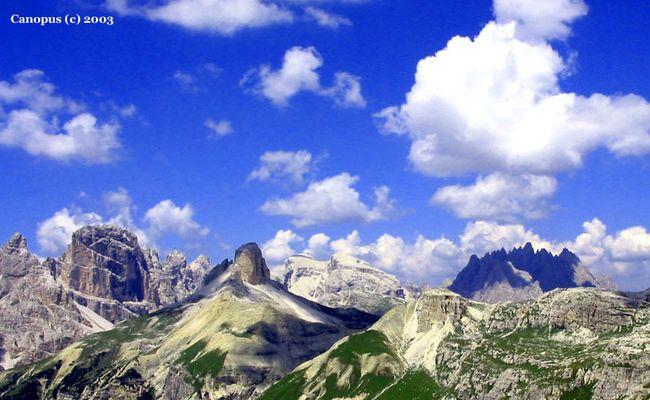 Dolomiten Panorama - Italien