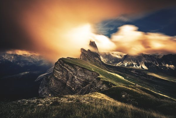Dolomiten - Seceda / Geislergruppe
