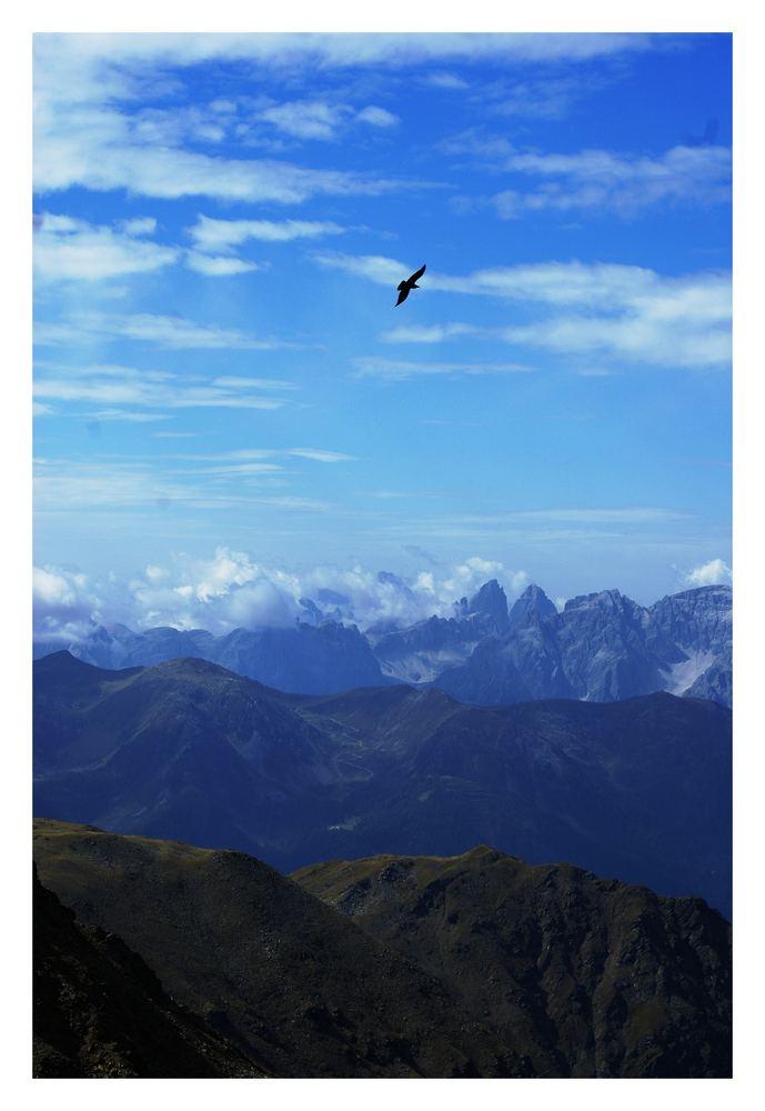 Dolomitenrundflug 2 Runde