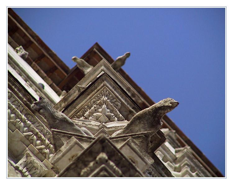 Dom-Detail zu Siena