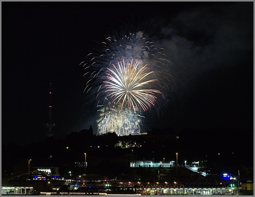 - Dom Feuerwerk -