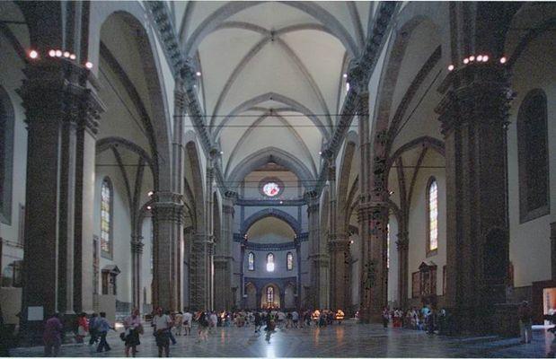 Dom Florenz Innensicht