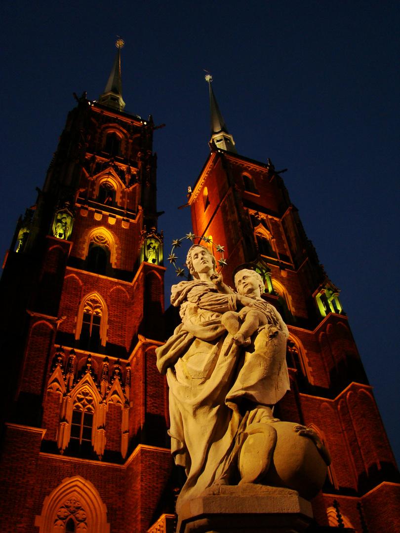 Dom Johannes der Täufer in Breslau/Wroclaw