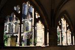 Dom zu Magdeburg - Blick vom Kreuzgang in den Innenhof