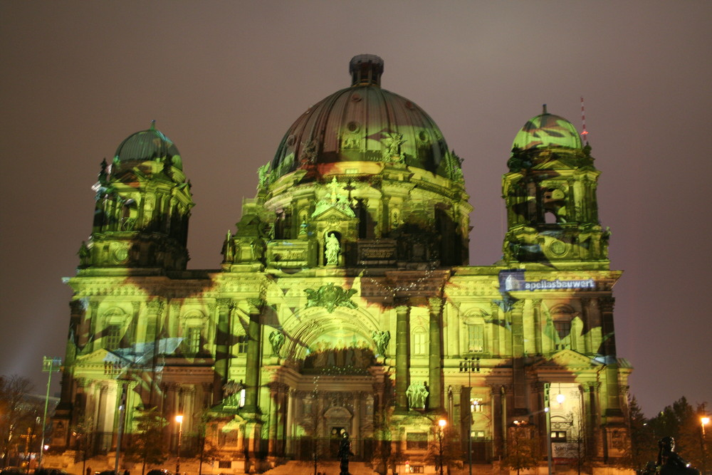 Dome Berlin at Festival of Lights