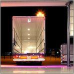 Dome Düsseldorf: warten auf den load out...