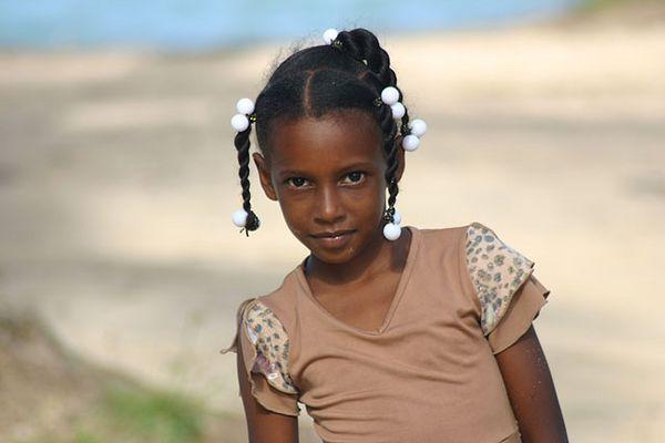 dominikanisches Mädchen