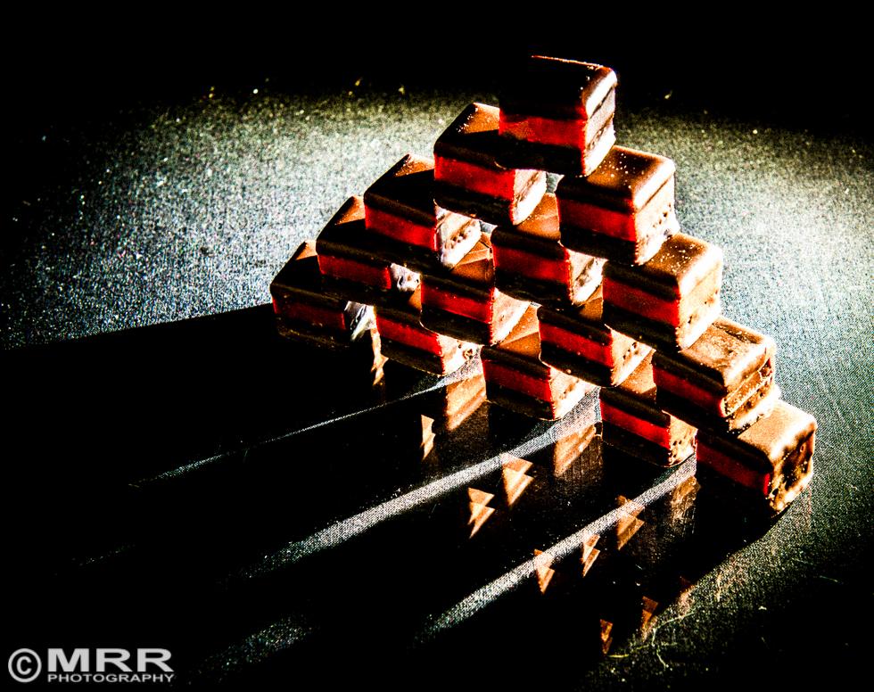 Dominosteine im Röntgenlicht