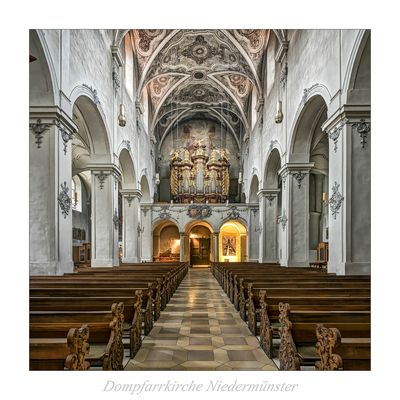 """Dompfarrkirche Niedermünster-Regensburg """" Gott zu Gefallen..."""""""