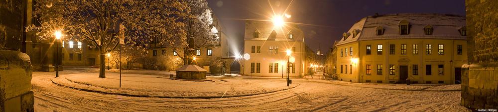 Domplatz Naumburg Panorama