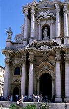 Domportal von Syracus (Sizilien)