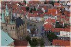 Domstraße Erfurt mit Blick auf das Andreasviertel