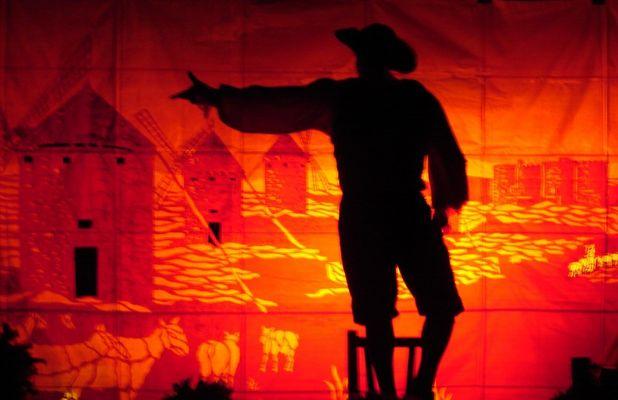 Don Quijote de la Mancha!