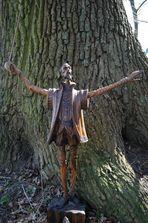 Don Quijote und die alte Eiche