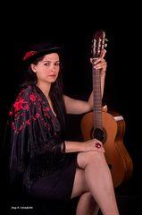 Dona i Guitarra