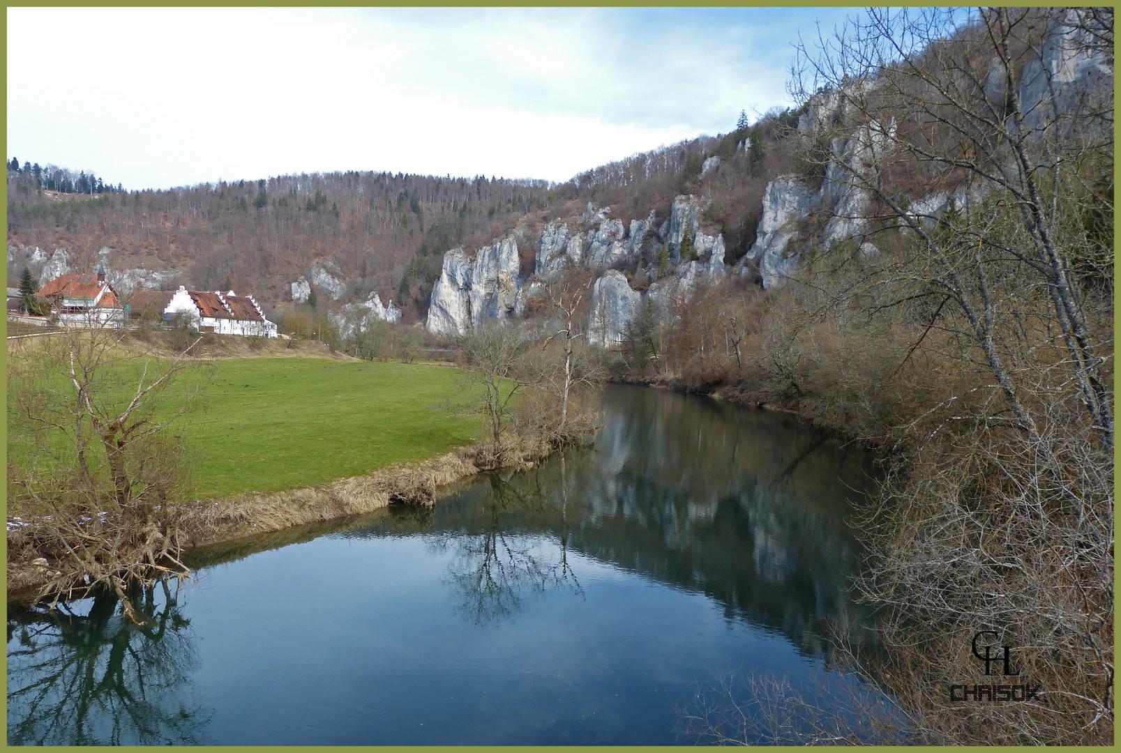 Donau bei Beuron