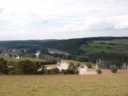 Donau bei Staubing vor Kehlheim