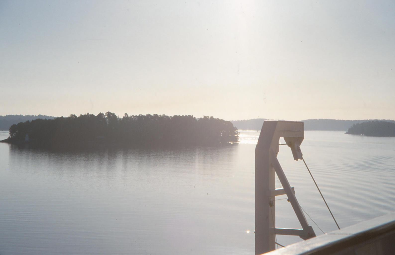 Donau im Morgendunst