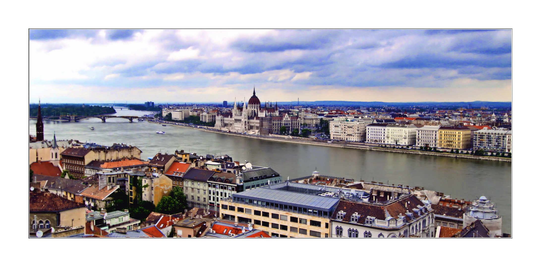 Donau in Budapest