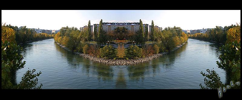 """Donau - """"Insel"""""""