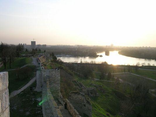Donau & Sava in Belgrad