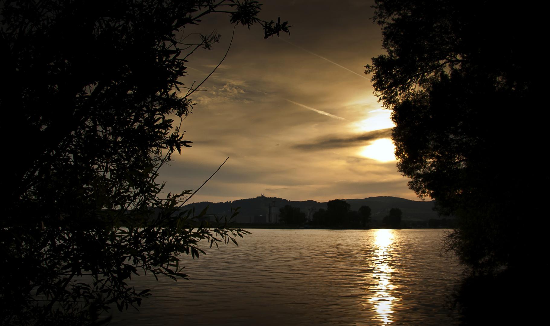 Donau Sunset