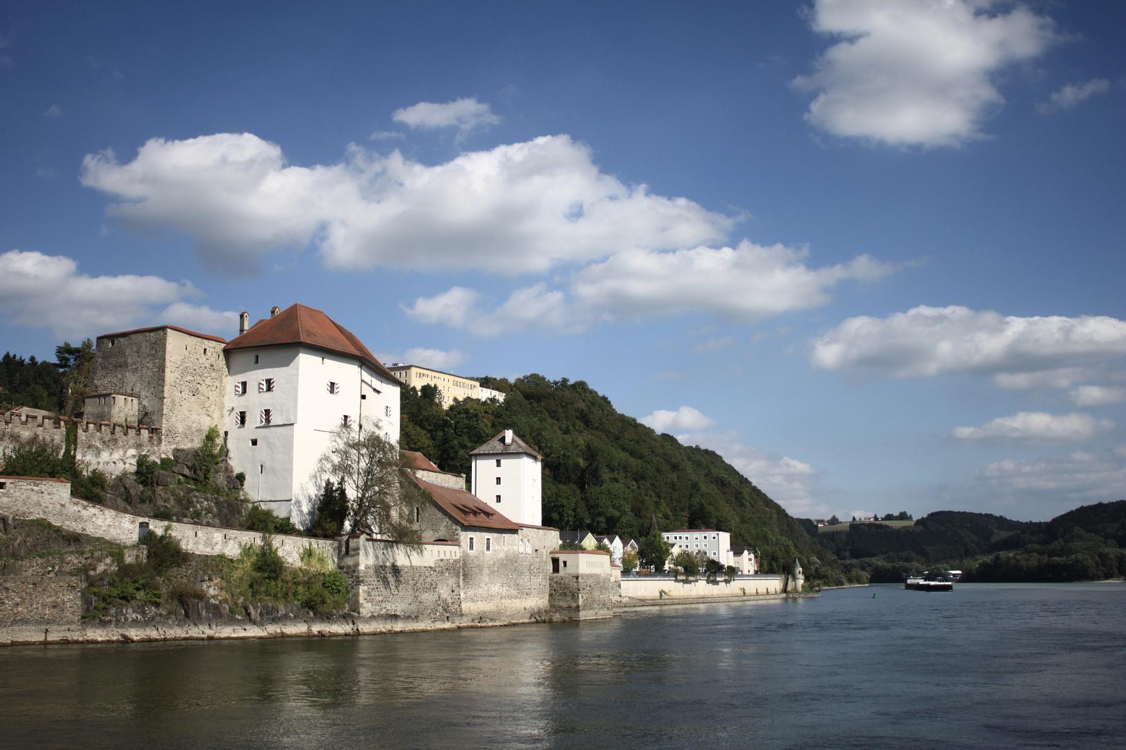Donau und Veste