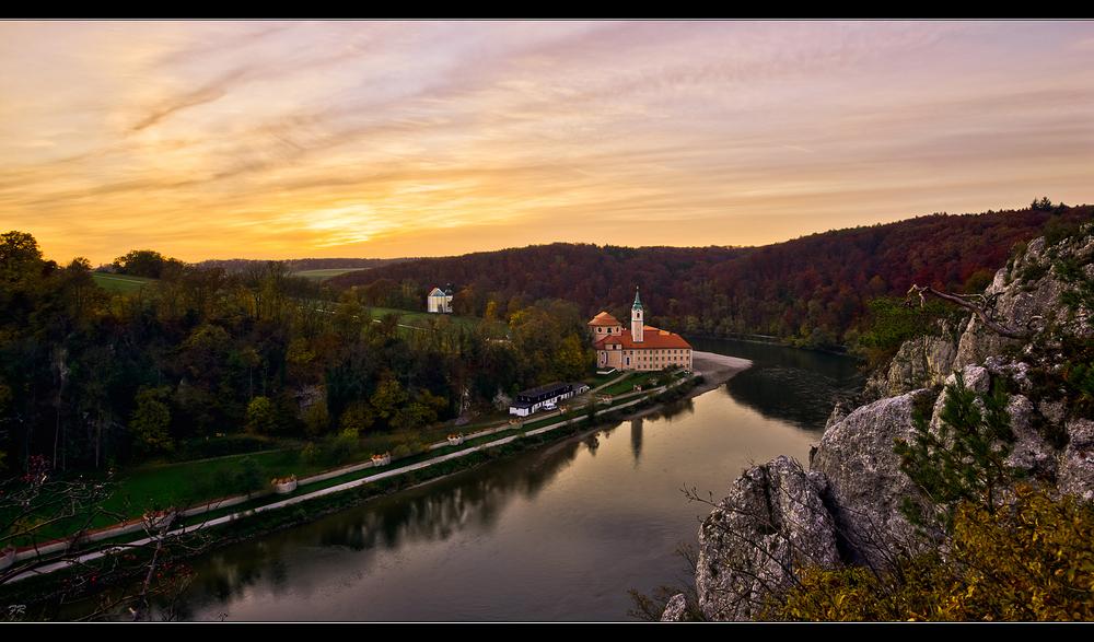 Donaudurchbruch *Kloster Weltenburg*