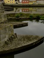 Donauside . Nach unten ausweichen .