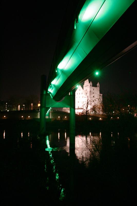 Donausteg in Ingolstadt