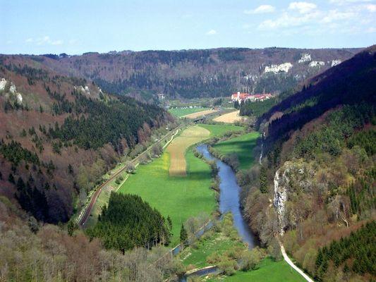Donautal bei Beuron