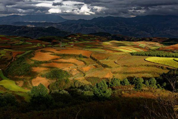 Dongchuan, Yunnan, Chine.