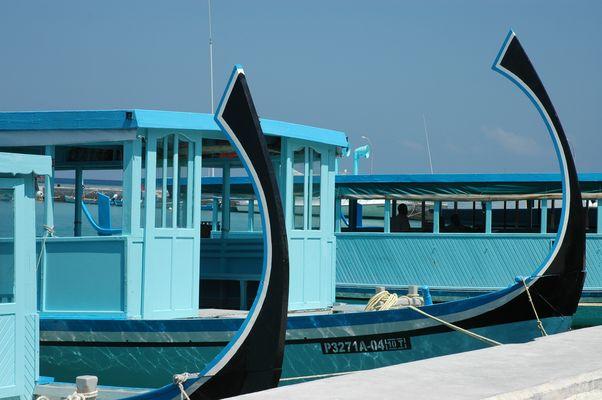 """""""Doni"""" maldiviens : le bleu est mis"""