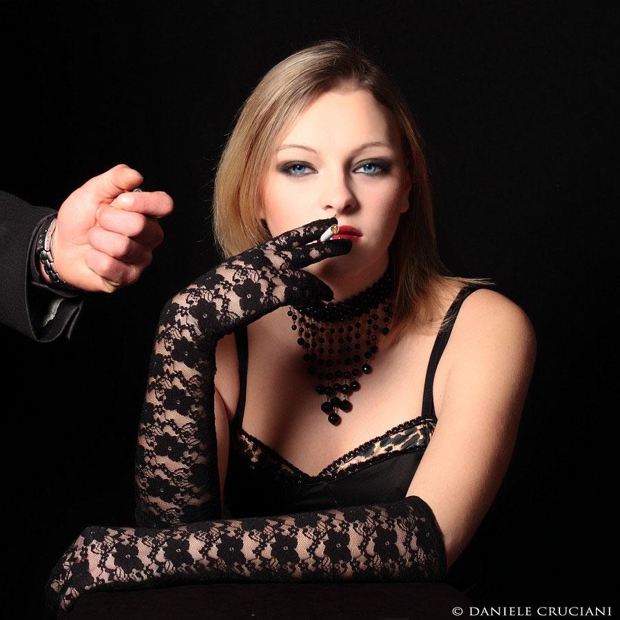 donna nel cabaret