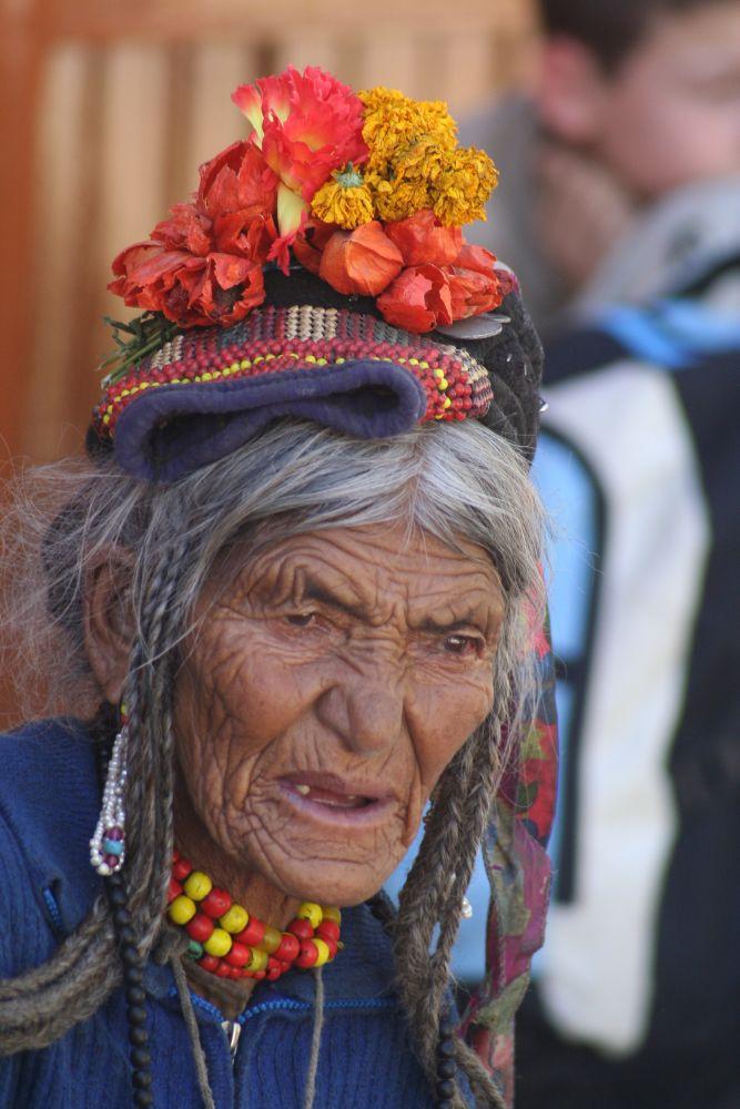 Donna tibetana